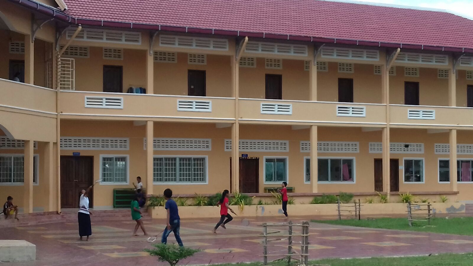 CLC - The First Building for teaching. Bedrooms upstairs
