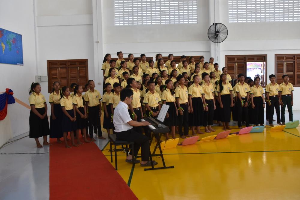 Choir on Inaugural Day Dec 2nd 2017