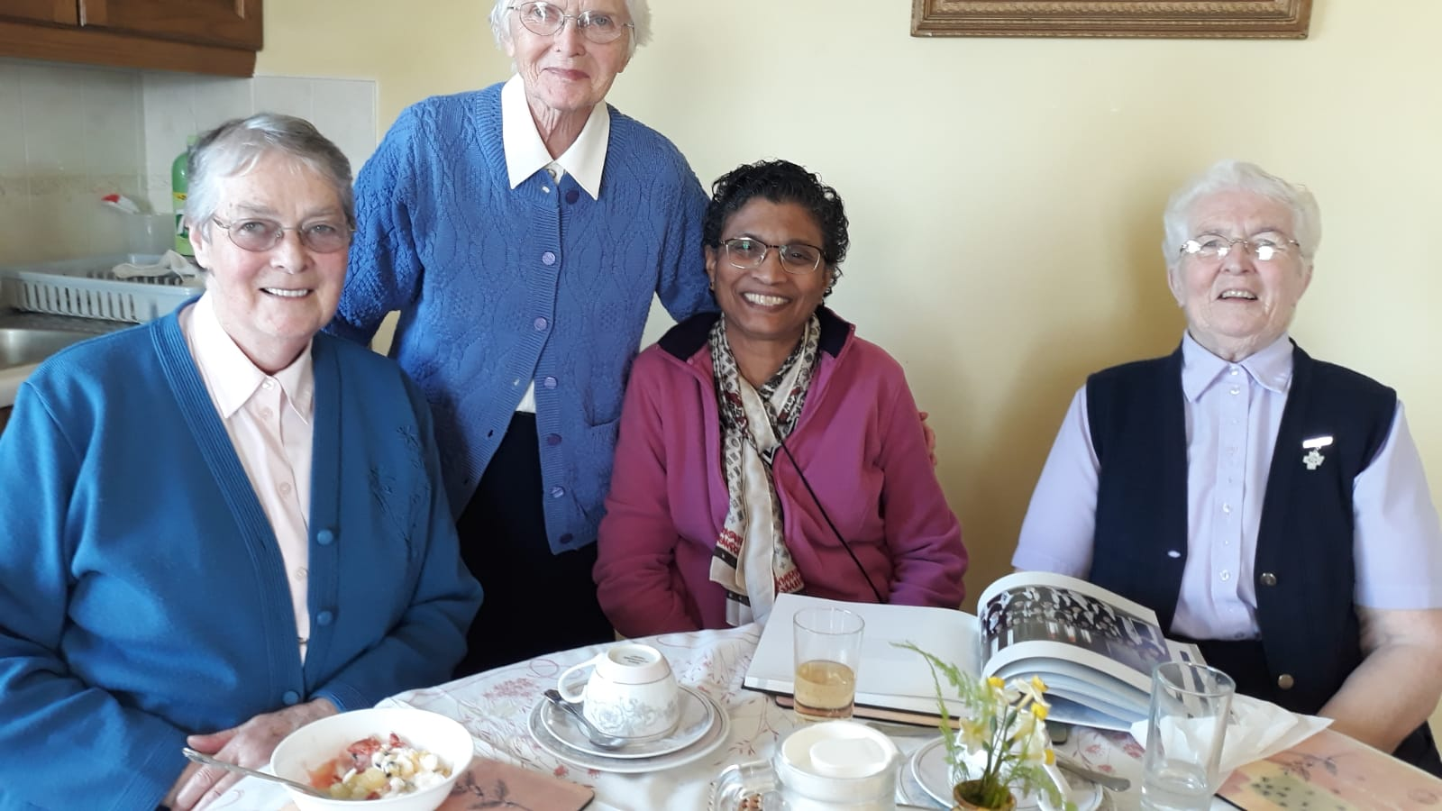 Srs Margaret, Carmel, Aurea and Placida