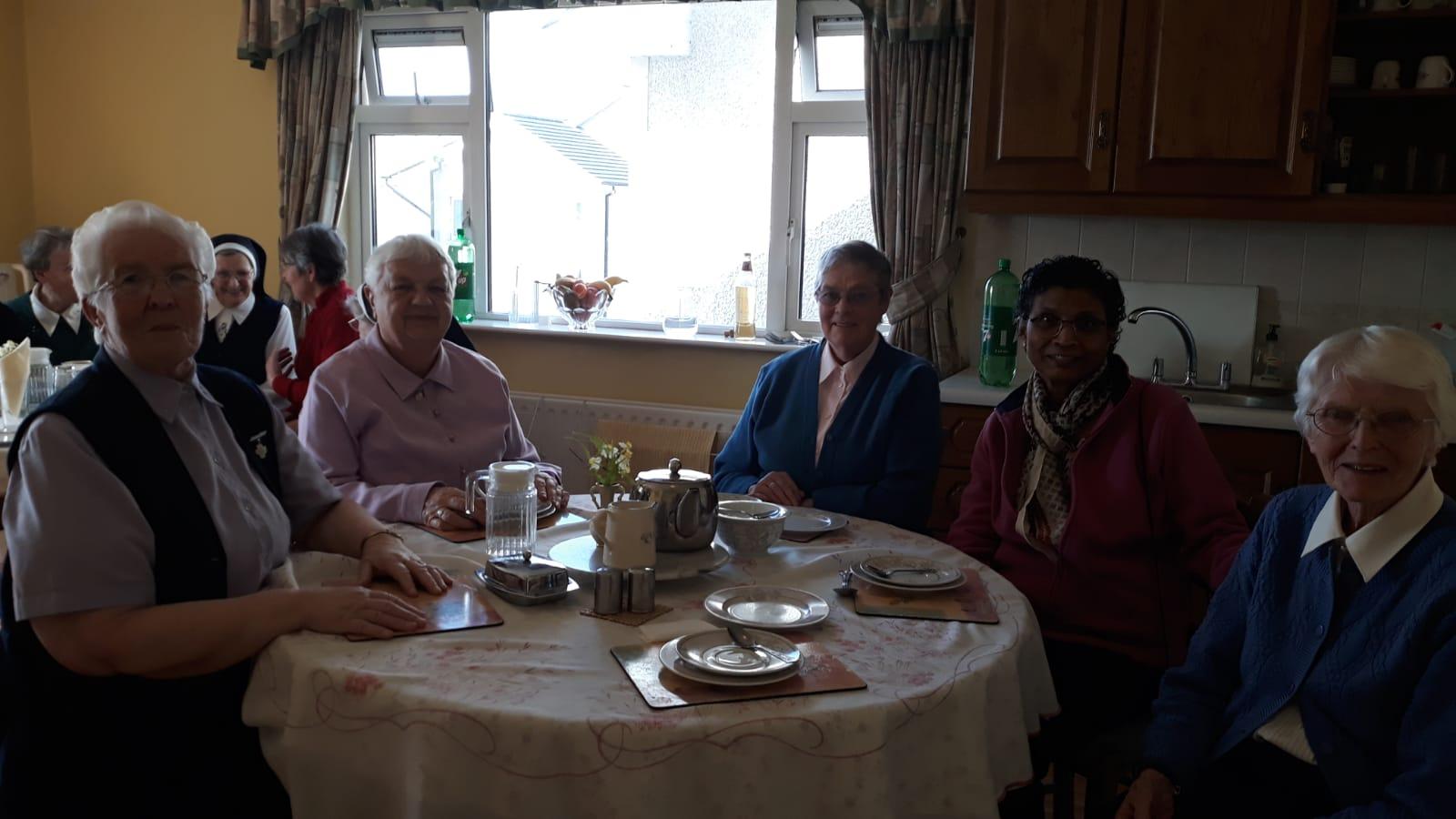Srs Placida, Evelyn, Margaret, Carmel