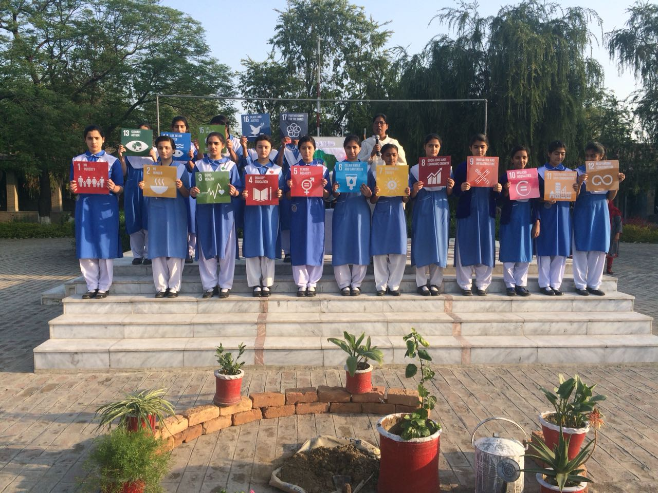 SDG school assembly