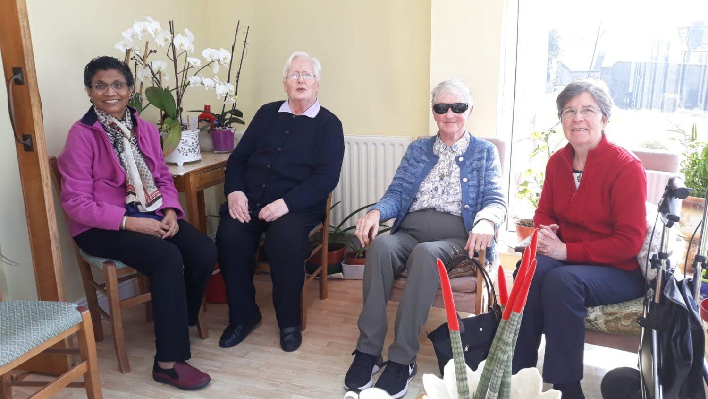 Srs Aurea, Catherine, Eucharia and Angela
