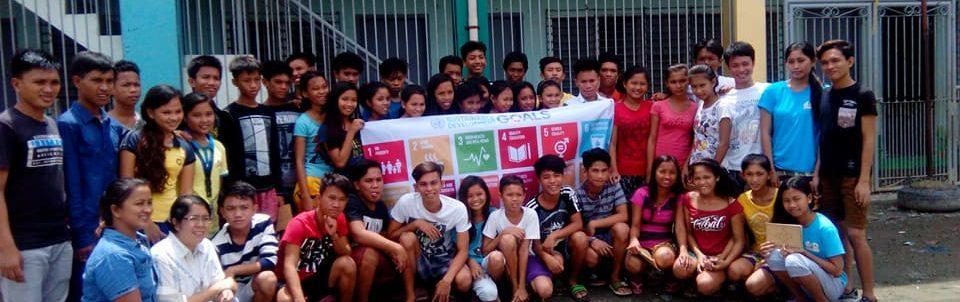 Badjao youth formation activity on the SDGs