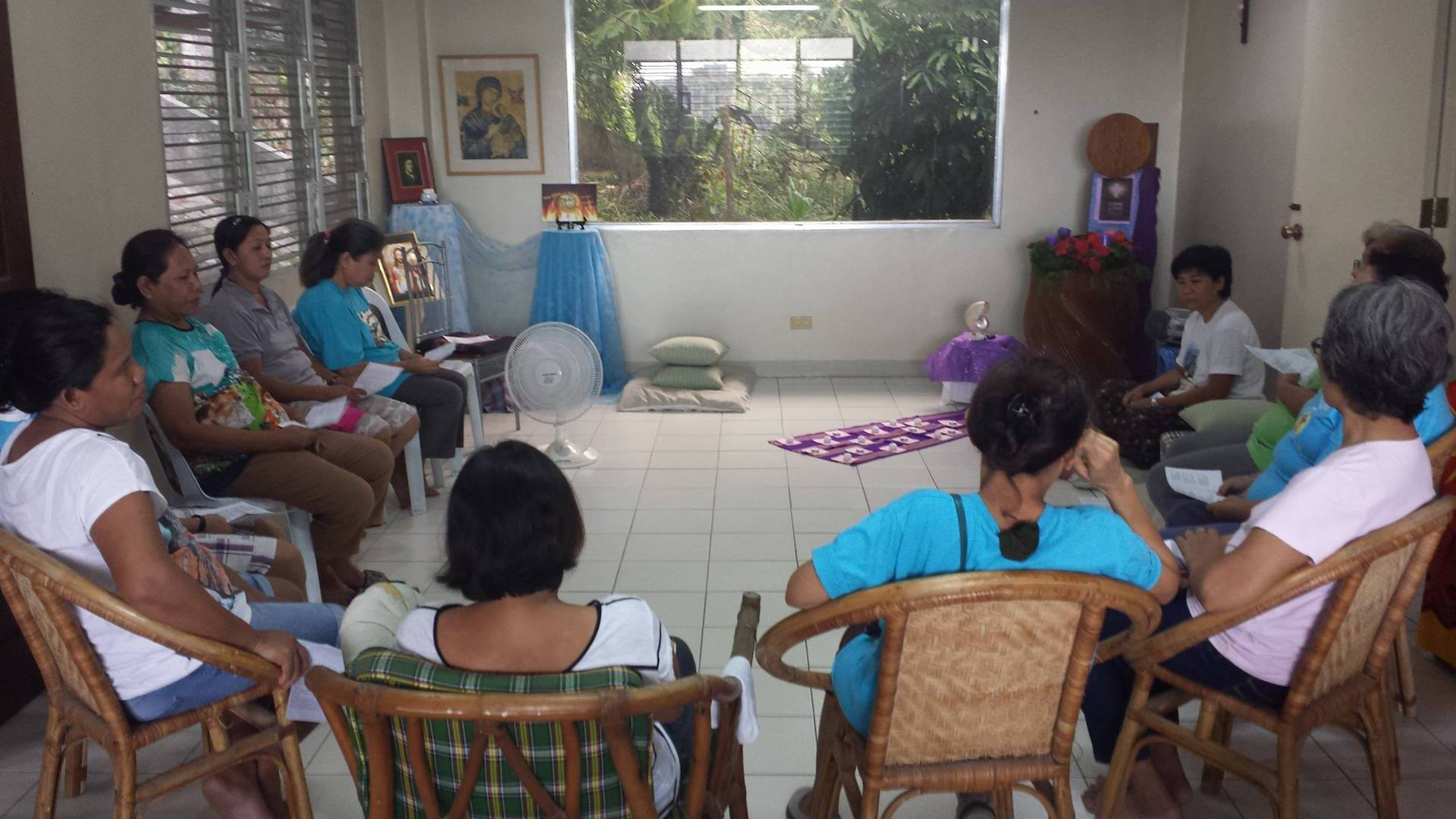 Recollection facilitated by Srs Mildred and Joy