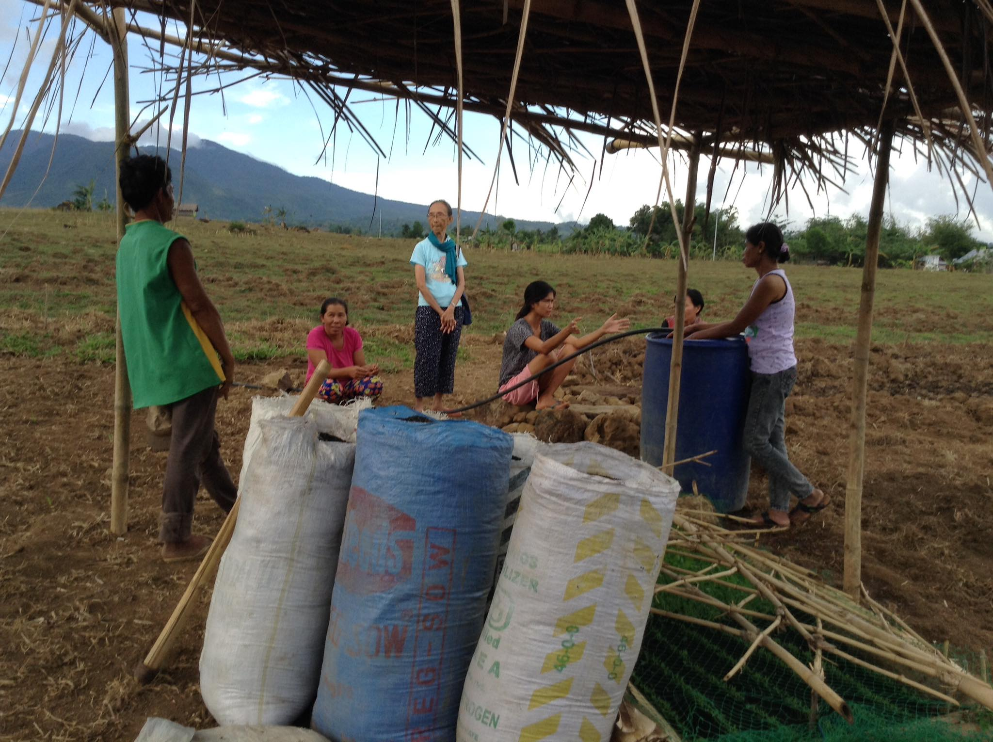 Vermiculture project of the mountain community