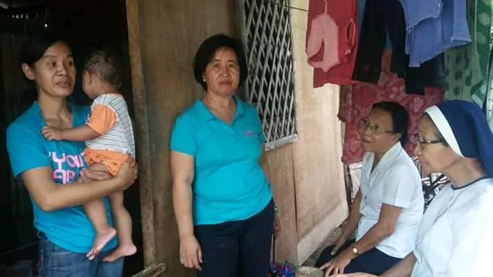 House Visitation with Emilia (PCC staff) and Srs Beth and Fidelis