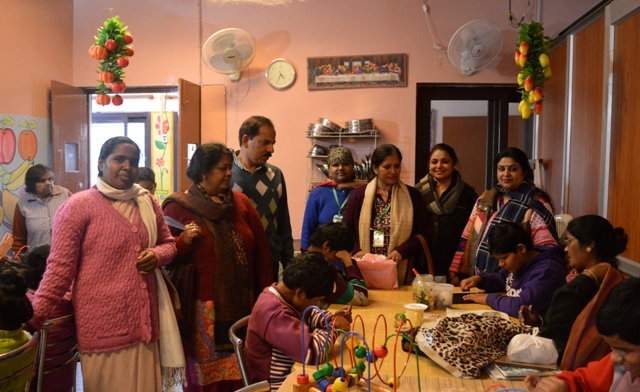 Visit to the blind home - by Friends of Nano