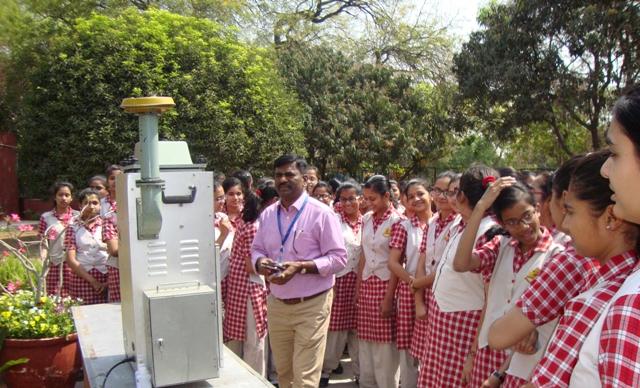 Monitoring air pollution in PCS Delhi
