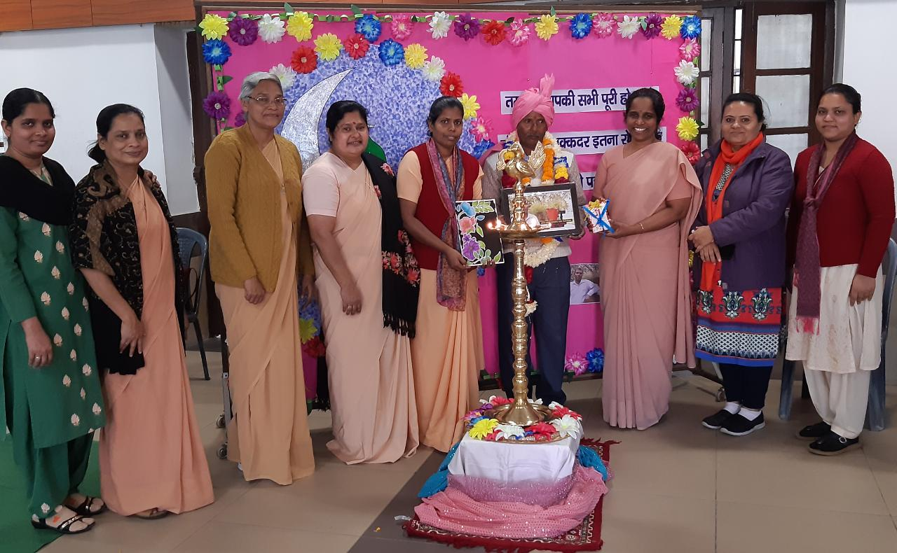 Retirement function of a supportive staff