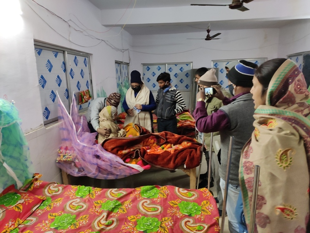 Getting beds arranged for poor Covid 19 patients