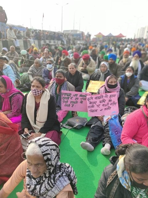 Solidarity with farmers struggle to revoke the farm laws