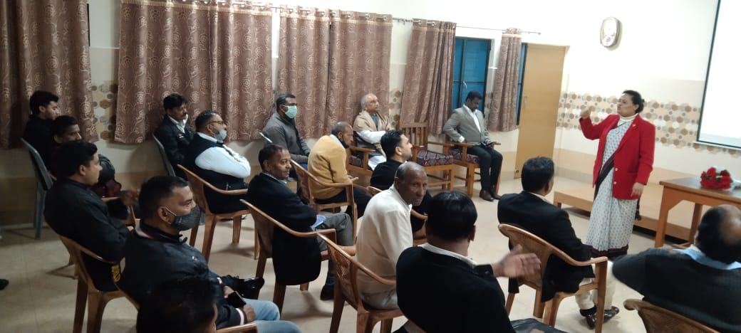 Sr Sneha with minority commission in Jammu