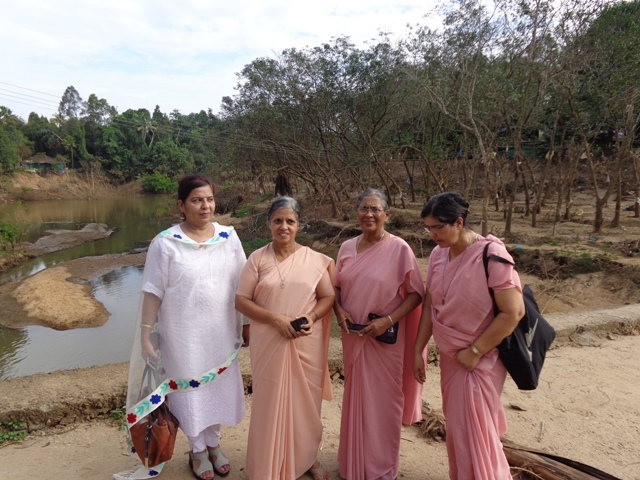 Visiting the Flood Victims in Kerala